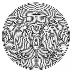 Mandala animales 6