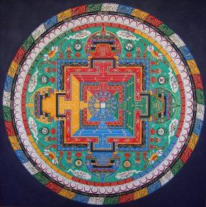 Mandala budista 4