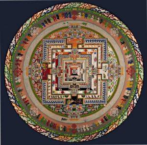 Mandala budista 8
