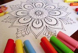 Mandala colorear 4