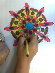 Mandala colorear 5