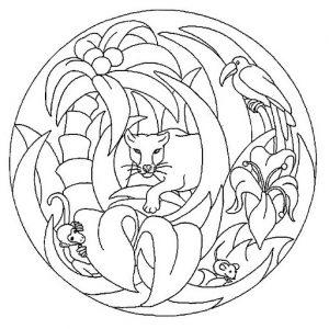 10 mandalas para ni os todo mandalas for Mandalas ninos