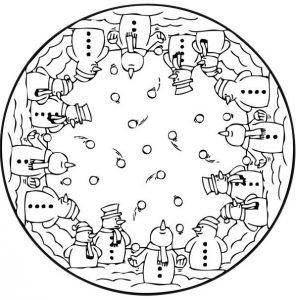 Mandala niños 7