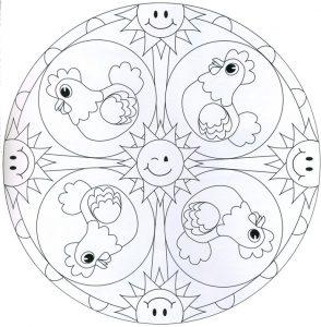 Mandala niños 9