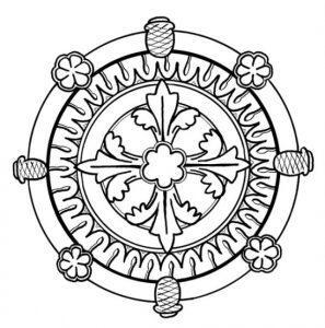 Mandala sencilla 4