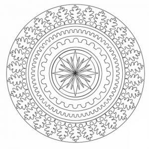 Mandala sencilla 8