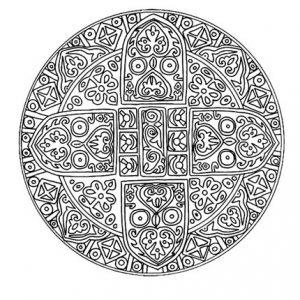 Mandala tibetana 1