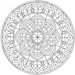 Mandala tibetana 6