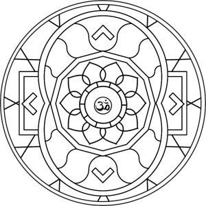 Mandala tibetana 8
