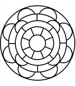 Las 5 Mandalas Mas Faciles Para Pintar Todo Mandalas
