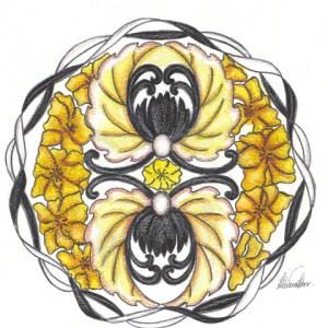 Mandala amor 6