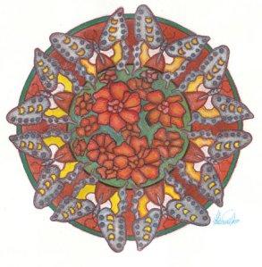 Mandala amor 7