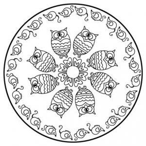 Mandala animales 1