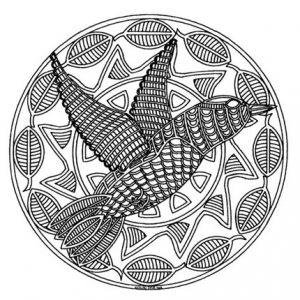 Mandala animales 4