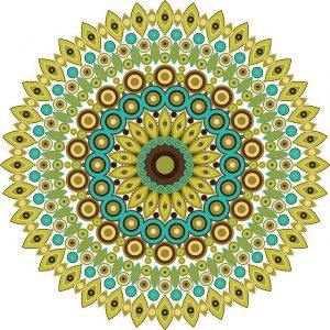 Mandala colorear 1