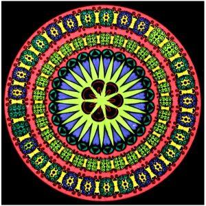 Mandala colorear 2