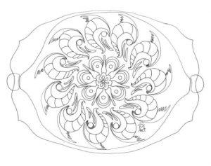 Mandala sencilla 1