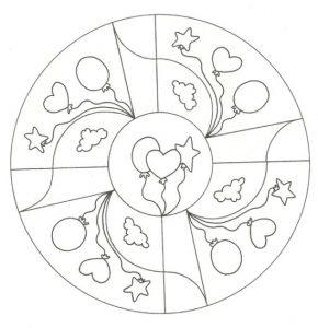 Mandala sencilla 9