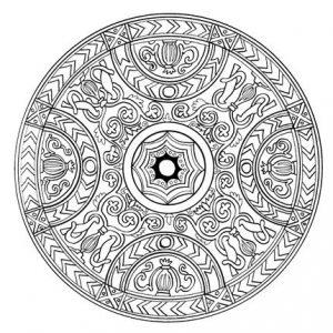 Mandala tibetana 2