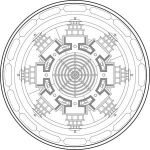 Mandala tibetana 3