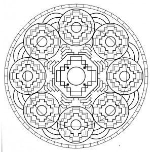 Mandala tibetana 5